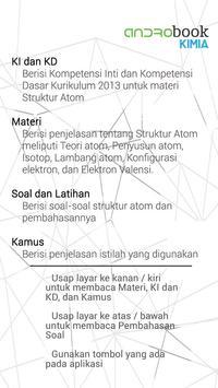 Androbook Kimia Struktur Atom apk screenshot