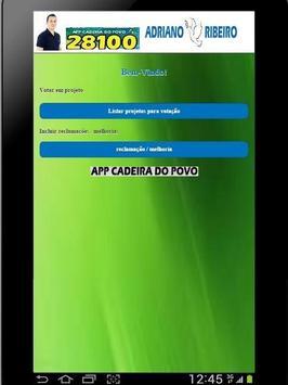 app cadeira do povo screenshot 1