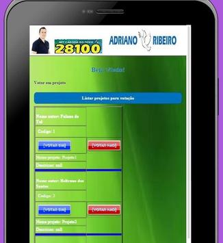 app cadeira do povo screenshot 2