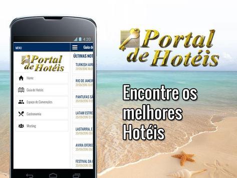 Portal de Hotéis e Convenções poster