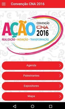 Convenção CNA 2016 poster