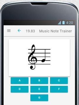 Music Note Trainer Lite screenshot 3