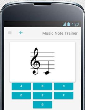 Music Note Trainer Lite poster