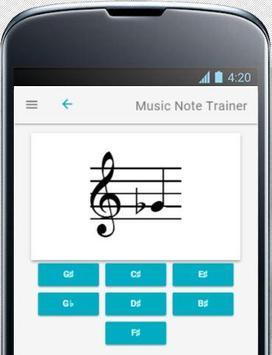 Music Note Trainer Lite screenshot 1