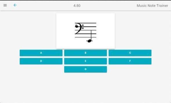 Music Note Trainer Lite screenshot 5