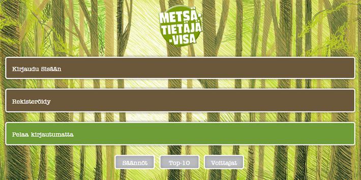 Metsätietäjä apk screenshot