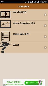 Simulasi KPR poster