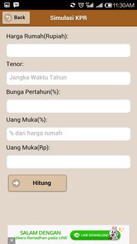 Simulasi KPR screenshot 1