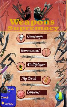 Weapons Supremacy [Card Game] poster