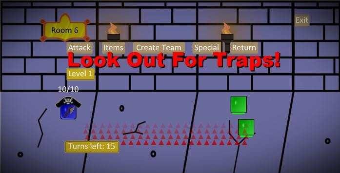 Crawly Dungeon apk screenshot