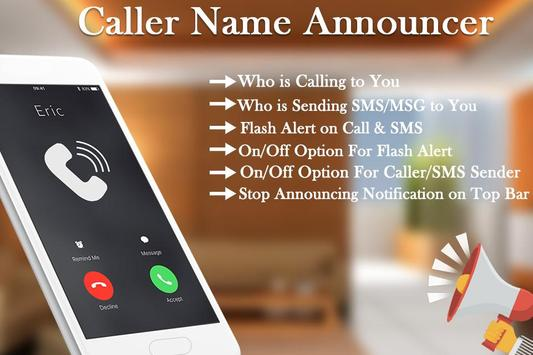 Caller Name Announcer & Flash on Call for Android - APK Download