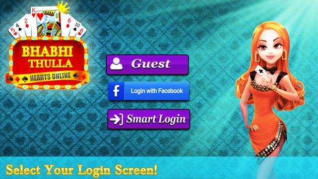 bhabhi thulla online 2018 multiplayer cards game apk screenshot