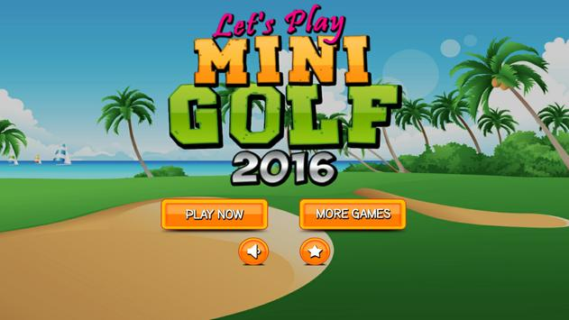 Lets Play Mini Golf 2016 poster