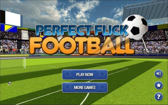 Perfect Flick Football poster
