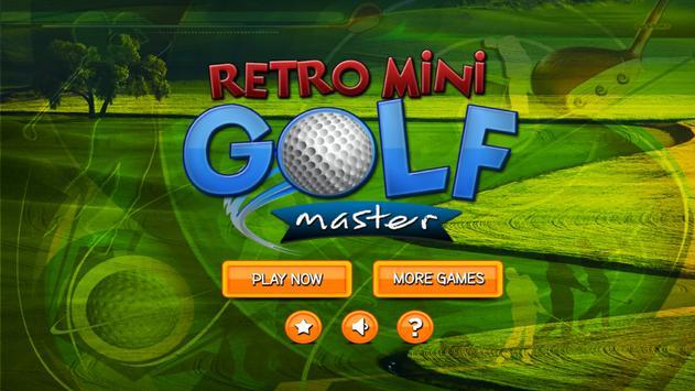 Retro Mini Golf Master poster