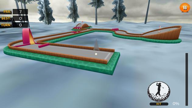 Retro Mini Golf Master apk screenshot