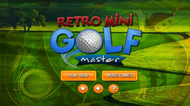 Retro Mini Golf Master apk screenshot