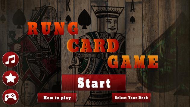 Rung Card Game : Court Piece poster