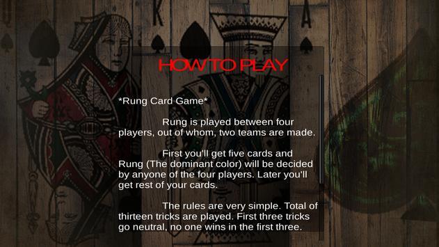 Rung Card Game screenshot 2