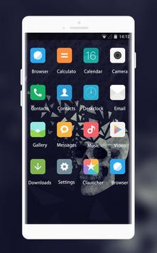 Theme for Xiaomi Mi MIX: Black Skull for Android - APK Download