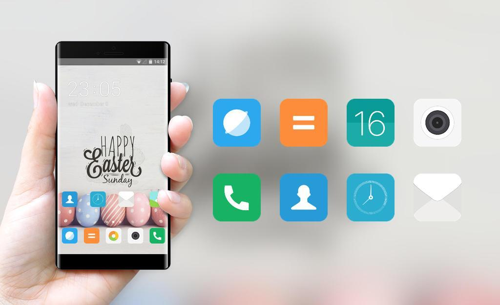Cute Miui Theme for Xiaomi Mi Note for Android - APK Download