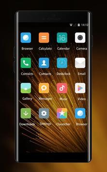 Mi Launcher Theme for Xiaomi Redmi Note Wallpaper screenshot 1