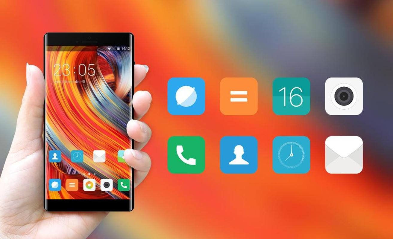Theme For Xiaomi Mi Mix 2 Miui Wallpaper For Android Apk Download