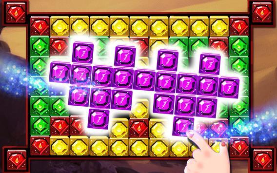 Jewel Cube Blast screenshot 3