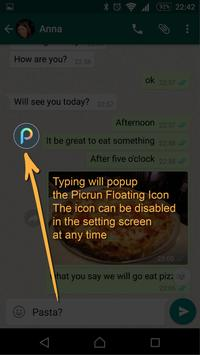 Picrun - Images GIFs &videos for WhatsApp poster