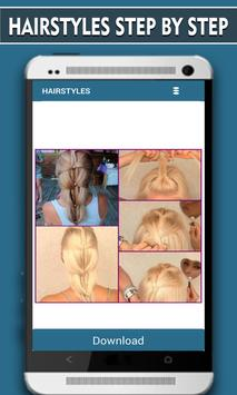Hairstyles Step by Step - 2016 apk screenshot