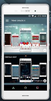 Themes Catalog X(Xperia Theme) apk screenshot