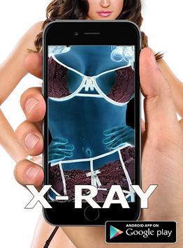Xray Cloth Camera prank 2016 poster