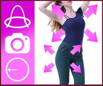 Shape your body editor screenshot 1