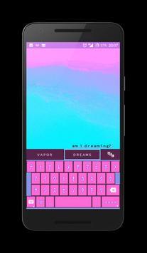 VAPORWAVE Keyboard 🌴 apk screenshot