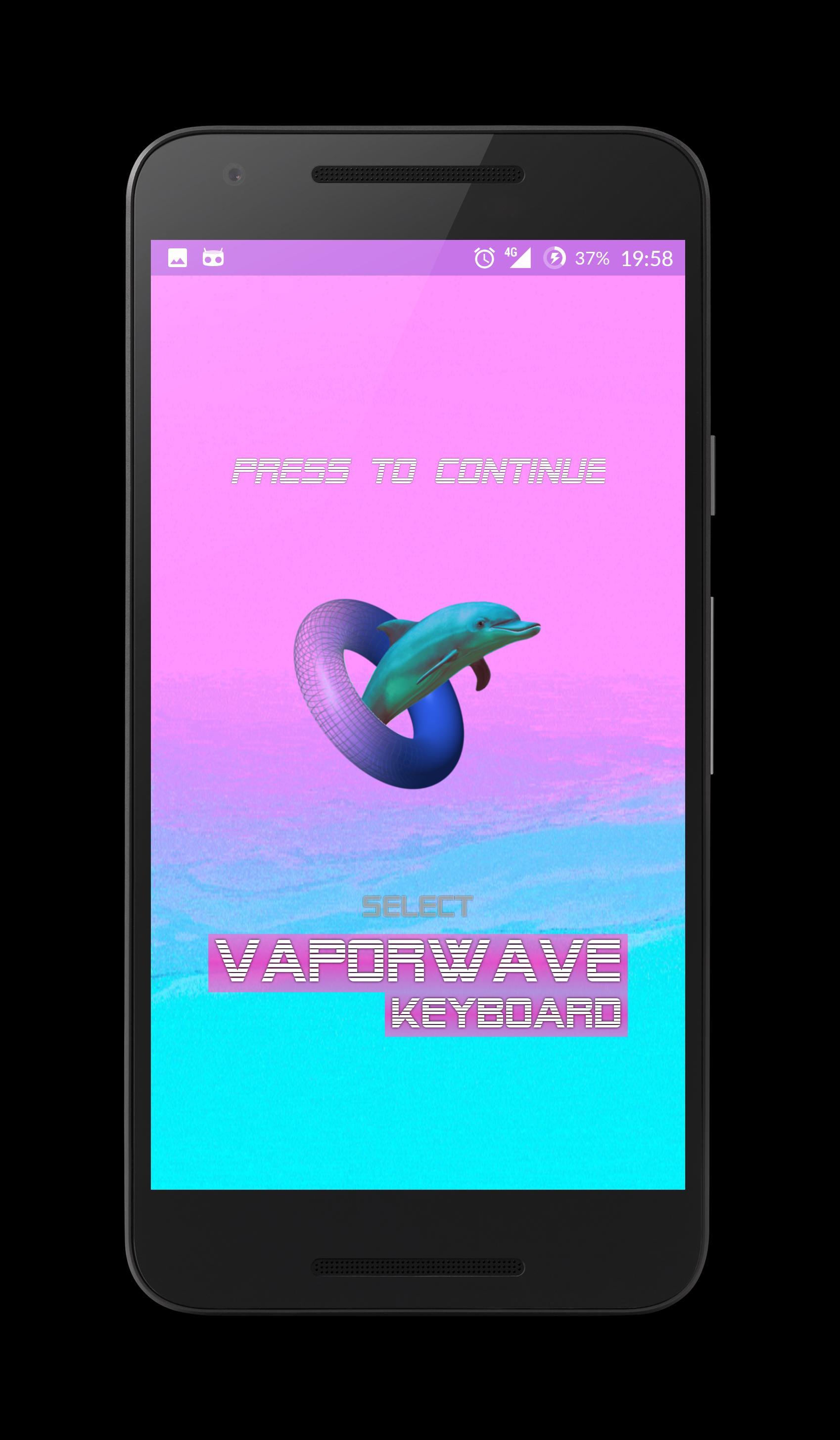 VAPORWAVE Keyboard for Android - APK Download