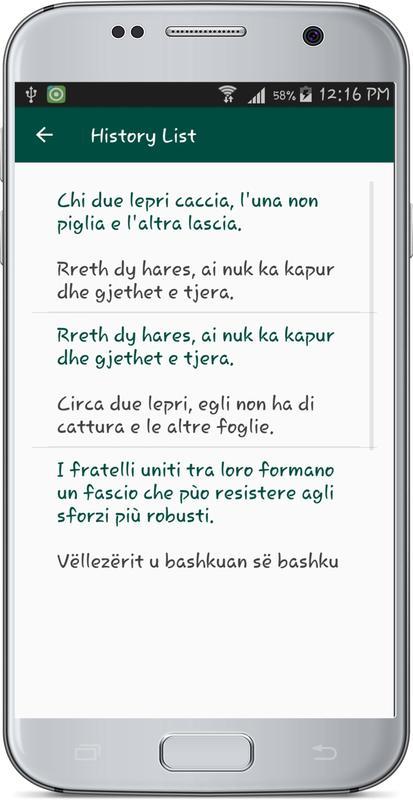Translator Italian: Italian Albanian Translate APK Baixar
