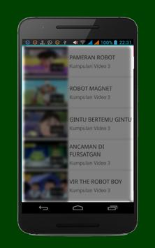 Koleksi Video Vir Robot screenshot 4