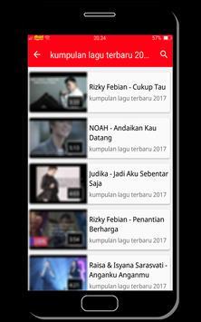 kumpulan lagu terbaru 2017 apk screenshot