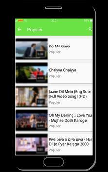 Lagu india terpopuler apk screenshot