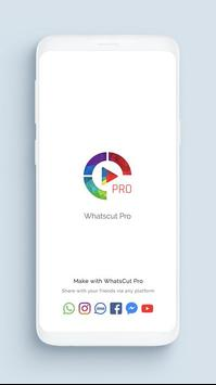 Audio Status Maker | Video Cutter - WhatsCut Pro poster