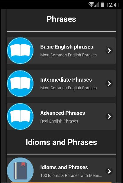 Idioms & Phrases with Meaning for Android - APK Download