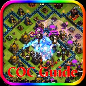 Guide Clash of Clans (COC) poster