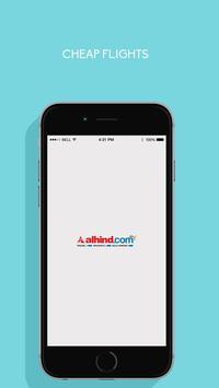 Alhind.com - Flight Booking App poster