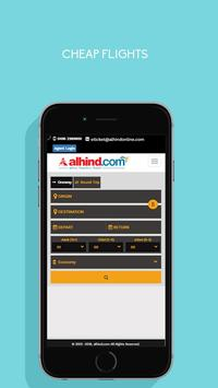 Alhind.com - Flight Booking App screenshot 1