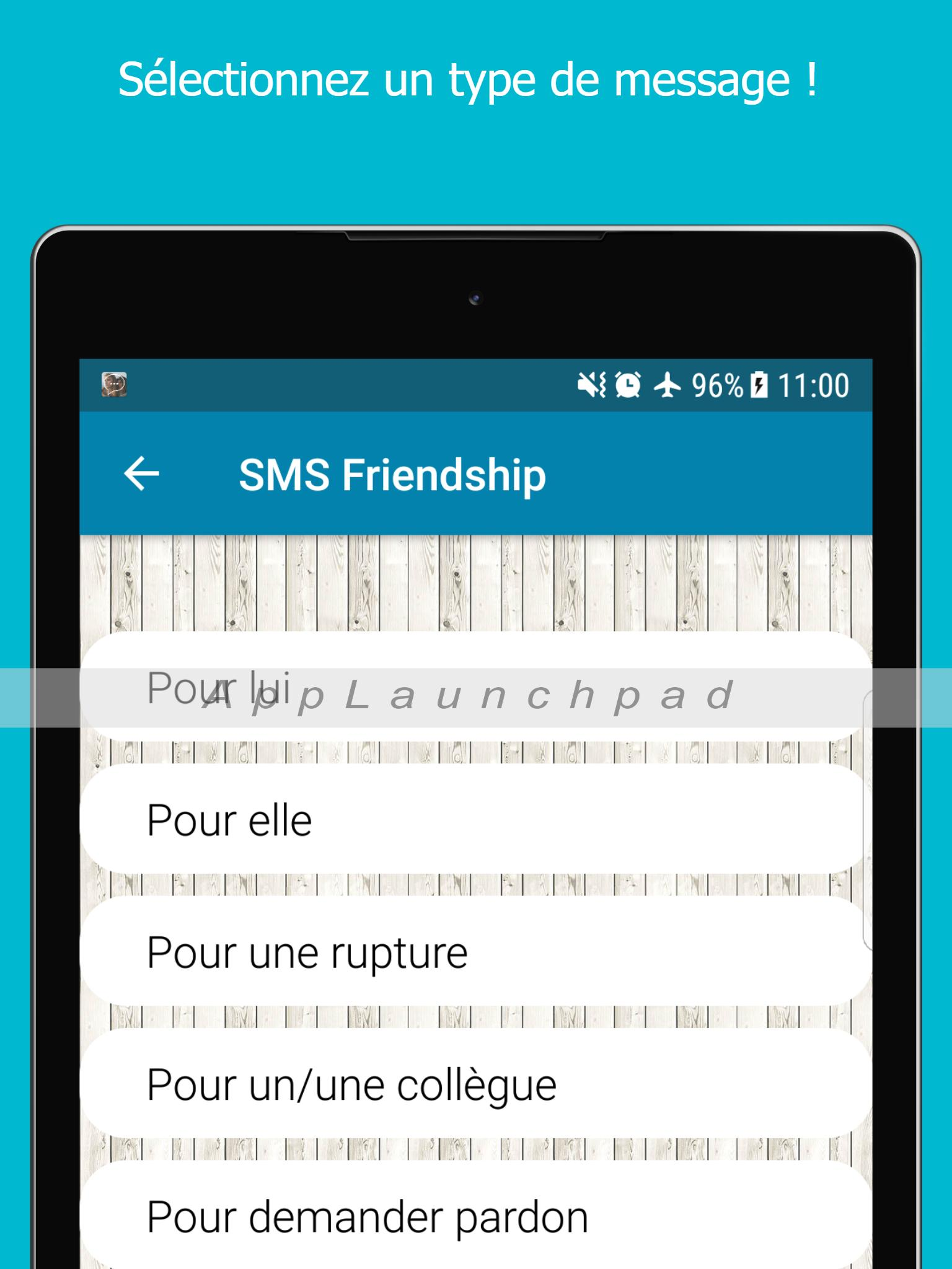 Sms Damitié En Français Carte Virtuelle Mms For Android