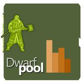 Dwarfpool Mining Statistics icon