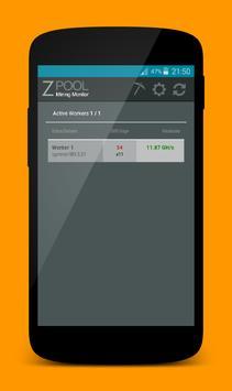Zpool Balance Monitor captura de pantalla 1