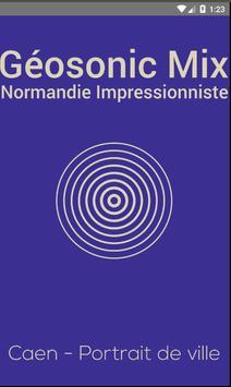 Géosonic Mix Normandie poster