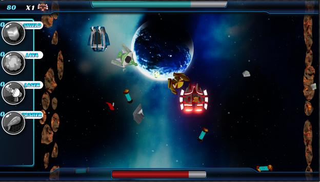 Bumpex 2: Space Warrior apk screenshot