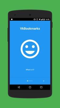 VkBookmarks poster